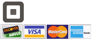 Visa, MasterCard, Discover and American Express accepted.